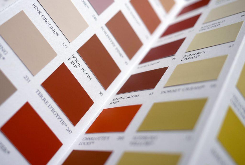 Värin valitseminen kotiisi
